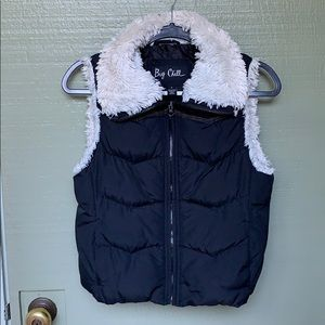 NORDSTROM- BIG CHILL- size small puffy vest